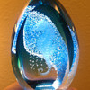 Caithness Glass Seahorse Paperweight