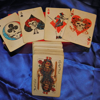 Grateful Dead Playing Cards - Music