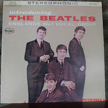 "The World's Most Counterfeited Record Album : ""Introducing The Beatles"" LP"