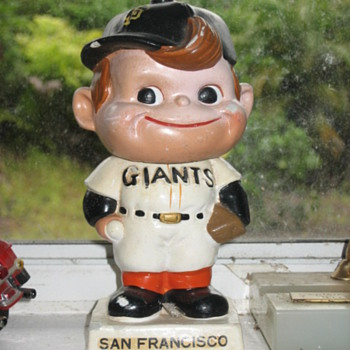 My SF Giants bobblehead - Baseball