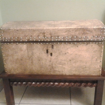 My Antique Leather Chest