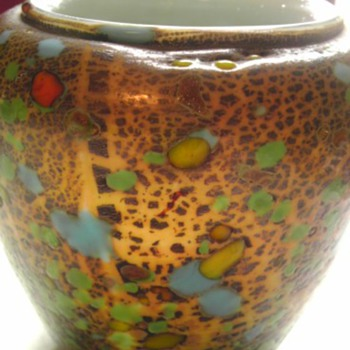 End of day vase - Art Glass