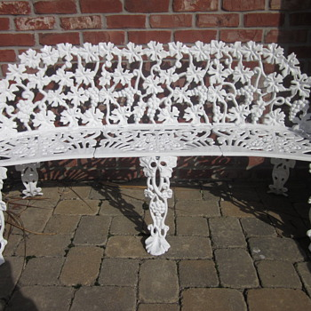 Cast Iron Garden Bench - Furniture