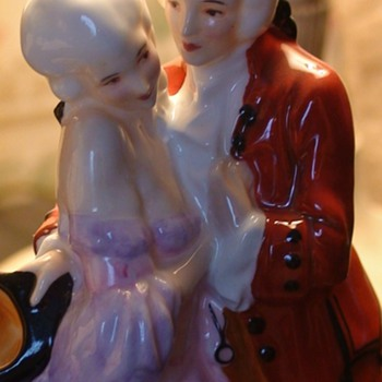 """The Perfect Pair"" Royal Doulton ""Happy Valentine's Day!"" To CW"