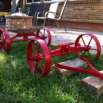 Iron Wheel Wagon/Cart