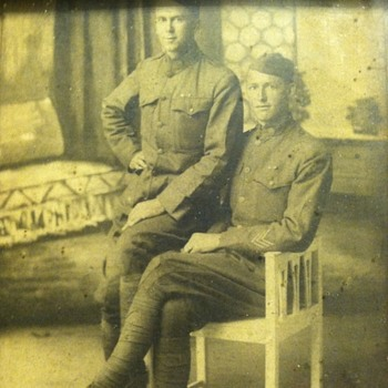 USA ww1 soldiers - Military and Wartime