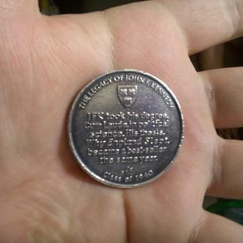 Harvard Cum Laude JFK medal