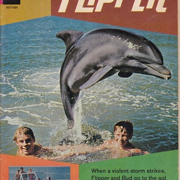 flipper Gold Key Comic Book 1966 - Comic Books