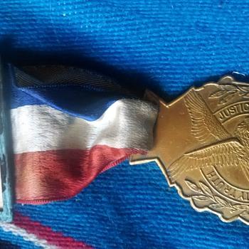 F.O.E. medal
