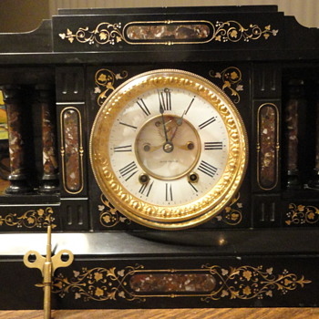 Seth Thomas Mantle Clock Saved? - Clocks
