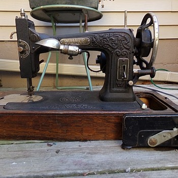 Cleaned Up Sewing Machine - Sewing