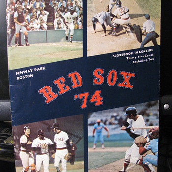 Red Sox 74 First Edition - Baseball