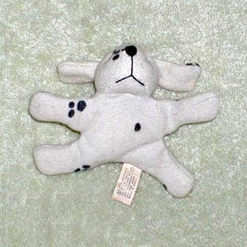 Plush Dalmatian Fridge Magnet