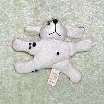Plush Dalmatian Fridge Magnet