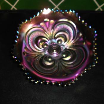 Carnival Glass.  - Glassware