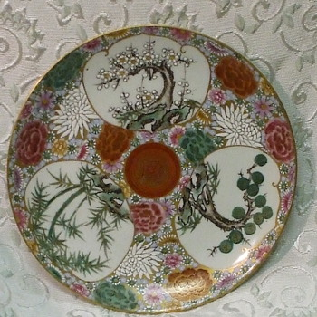 I'm obsessed - Imari style with unusual marks-any idea's welcome - China and Dinnerware