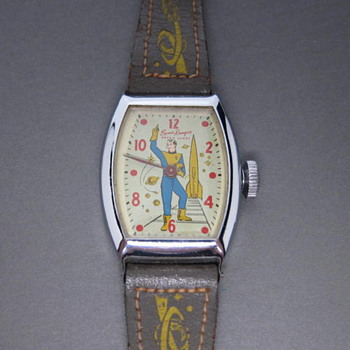 "Rocky Jones ""Space Ranger"" Wristwatch 1954 - Wristwatches"