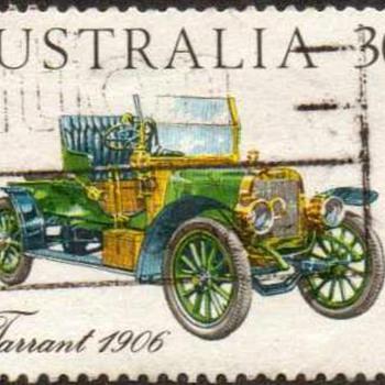 """1984 - Australia """"Vintage Cars"""" Postage Stamps"""