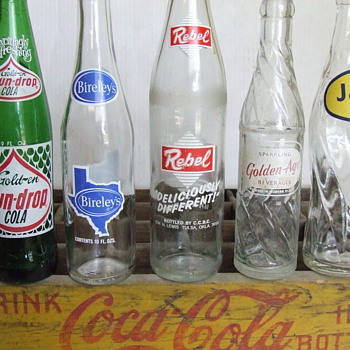 A Few More ACL Soda Bottles