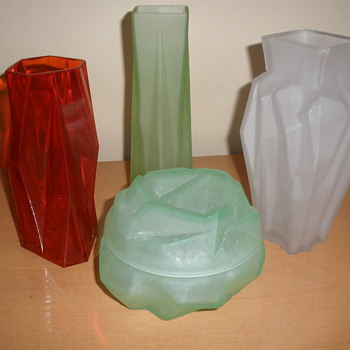 Art Deco Kopp Glass