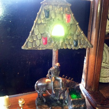 Weird and wonderful lamp