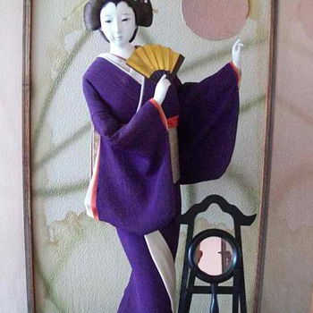 Geisha Getting Ready for Her Appointment - Dolls