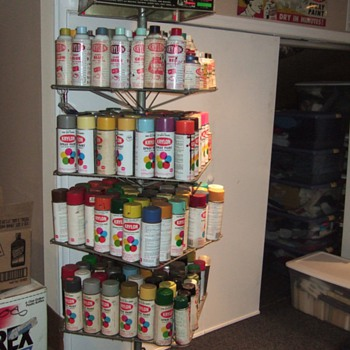 My Krylon Spray Paint Collection