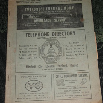 The Norfolk & Carolina Telephone & Telegraph Co. - Telephones