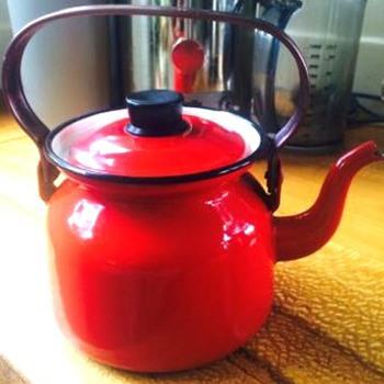 finel finland enamel kettle