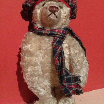 A Scottish Steiff teddy