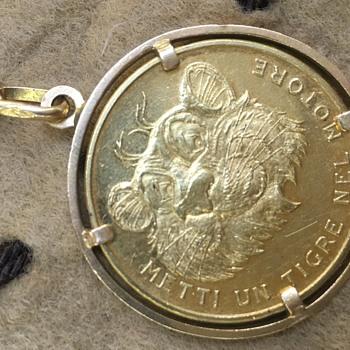 Vintage ESSO Gold Coin/Medal