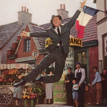 1960 - Gene Kelly for Air France - Advertisement