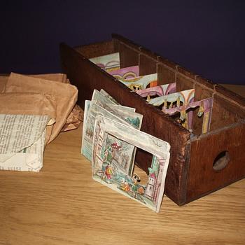 Peep show box - Cameras