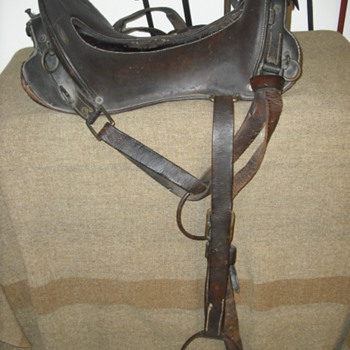 Model 1904 McClellan Saddle - Military and Wartime