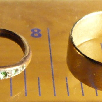 Archeology: Two Golden rings