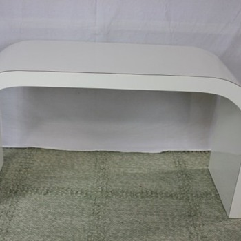 Mid century arched accent table