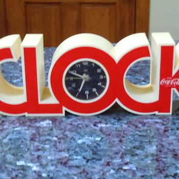 ISIS Coca-Cola Clock - Coca-Cola