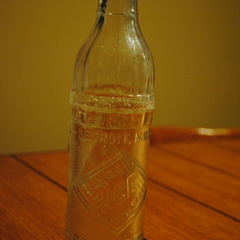 1926 Faygo Bottle-Detroit, MI - Bottles