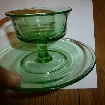 Green Glass ???? - Glassware