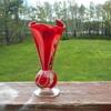 Murano Art Glass Bud Vase