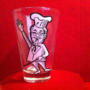 KFC glass premium