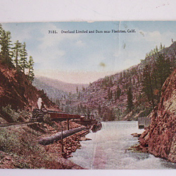 Overland Limited - Postcards