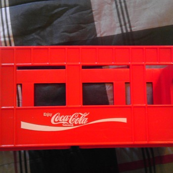 Coca-Cola 2L Plastic Crate 