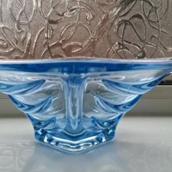 Bagley Glass ? - Art Deco