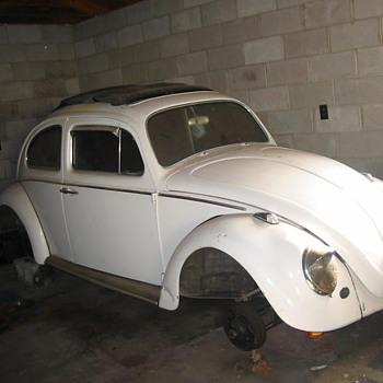 my 1960 volkswagen bug ragtop