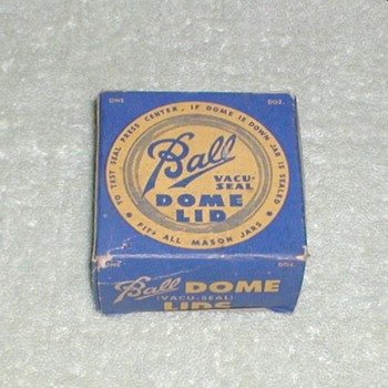 Ball Vacu-Seal Dome Lids with box - Advertising