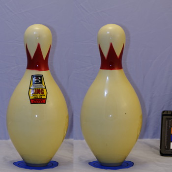 Brunswick King Plastic Coated Duckpin - Sporting Goods