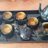 CHINESE LACQUERED TEA SET