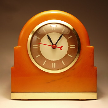 "Lackner Neon-Glo ""Dulcy"" Shelf Clock"