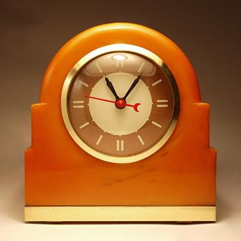 "Lackner Neon-Glo ""Dulcy"" Shelf Clock - Clocks"